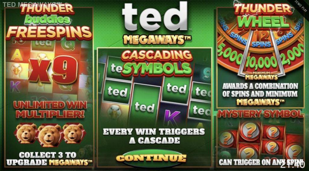 Ted Megaways-คาสิโน